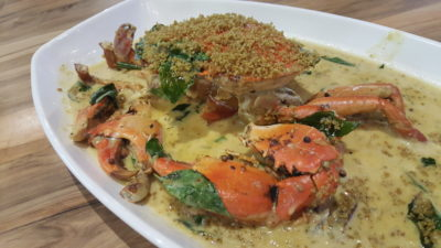 Uncle Leong Signatures At Waterway Point, Punggol, Singapore - Shimmering Sand Crab 金沙螃蟹 ($70)