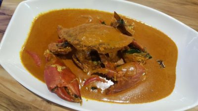 Uncle Leong Signatures At Waterway Point, Punggol, Singapore - Signatures Curry Crab 招牌咖喱螃蟹 ($70)