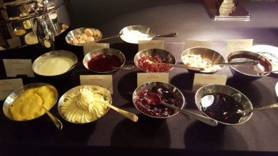 Weekend Afternoon Tea At Tea Lounge Of Regent Hotel - Jams and Sauces