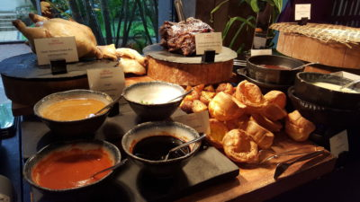 Weekend Afternoon Tea At Tea Lounge Of Regent Hotel - Savoury Delicacies
