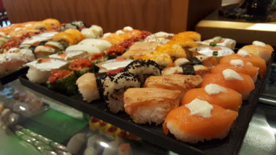 Weekend Afternoon Tea At Tea Lounge Of Regent Singapore - Sushi