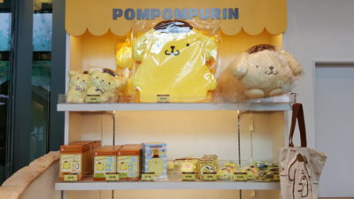 Pompompurin Cafe At Orchard Central, Singapore - Pompompurin Merchandise For Sale