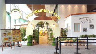 Pompompurin Cafe At Orchard Central, Singapore - Pompompurin Cafe Facade