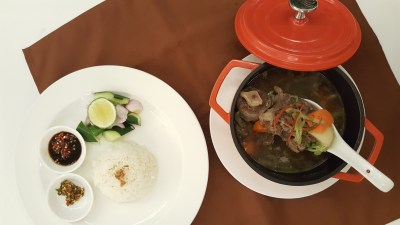 MoCA Cafe At Loewen, Dempsey, Singapore - Asian Twist, Wagyu Oxtail Soup ($26)