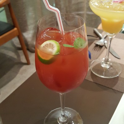 Time And Flow Champagne At Scotts Square, Orchard, Singapore - Seasonal Vegetable Mocktail (Tomato, Cranberry and Balsamic Vinegar)