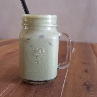 Fuel Coffee By Coffee Bandits - Ice Green Tea Latte ($6)