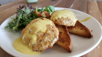 Fuel Coffee By Coffee Bandits - Crispy Poached Eggs ($11.90)