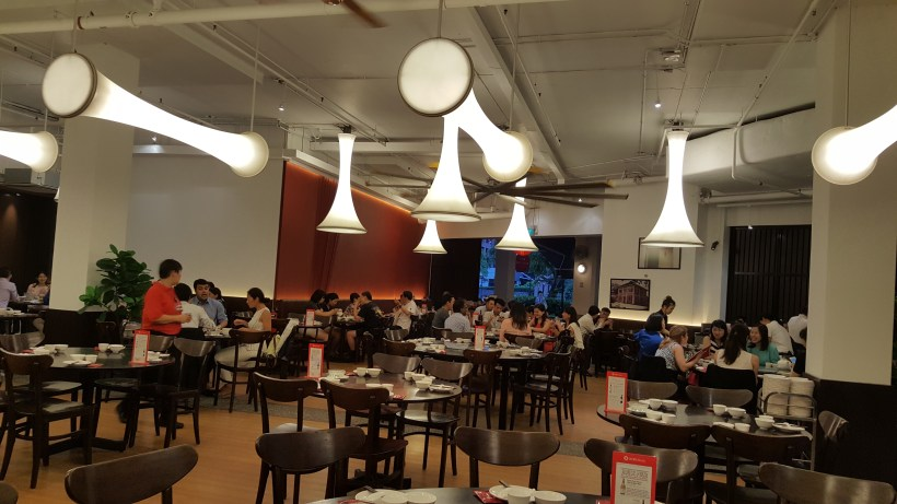 Red House Seafood Restaurant At Quayside, Roberston Quay, Singapore - Interior