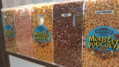 Sweet Monster at Velocity With New Menu - Popcorn flavours