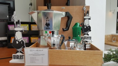 DW Workshop At Rochester Drive, Buona Vista, Singapore - Bialetti Coffee