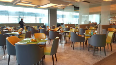 Hawker Fare Buffet At Makan @ Jen, Hotel Jen Orchardgateway, Somerset, Singapore - Another view of Interior Dinning area