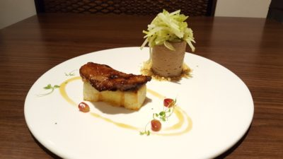 Froth Shifted To Ascott Raffles Place Singapore - Hot & Cold Foie Gras ($23.90++)
