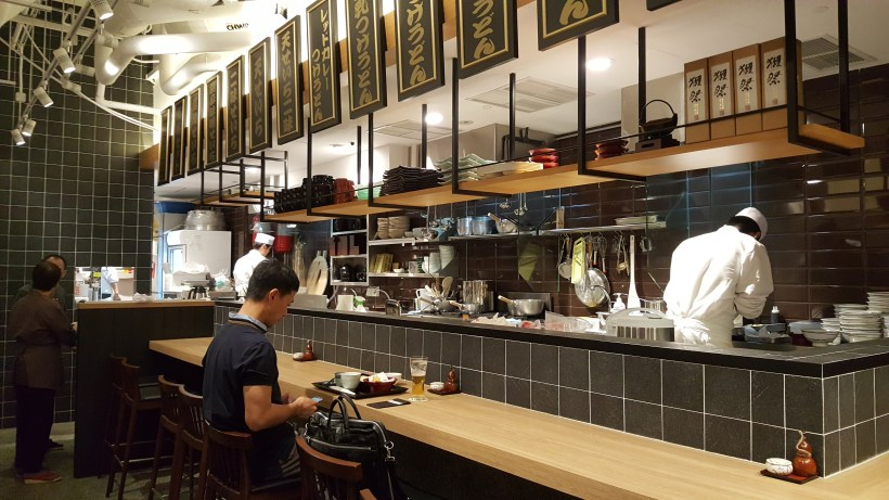 Inaniwa Yosuke Handmade Udon At Japan Food Town, Orchard, Singapore - Bar Counter