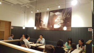 Inaniwa Yosuke Handmade Udon At Japan Food Town, Orchard, Singapore - Interior dinning area