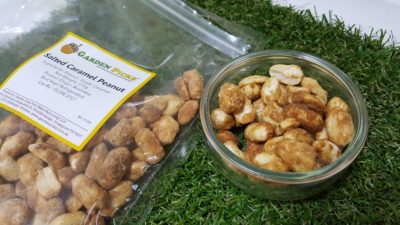 Wholesome Snacks From Garden Picks - Salted Caramel Peanuts