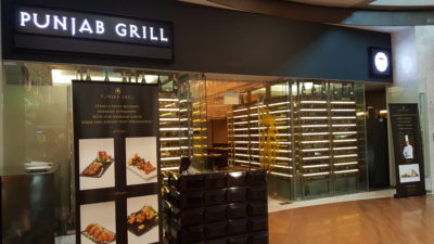 Punjab Grill @ The Shoppes At Marina Bay Sands - Facade