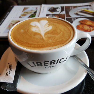 Liberica Coffee At South Quarter, Jakarta, Indonesia - Cappuccino