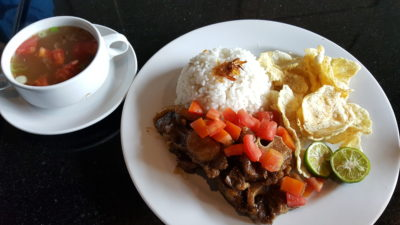 Liberica Coffee At South Quarter, Jakarta, Indonesia - Oxtail Grilled (IDR 138k)