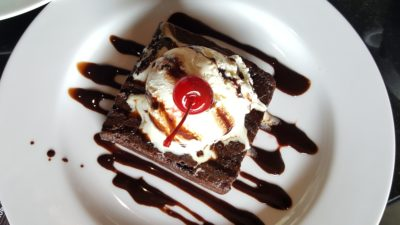Liberica Coffee At South Quarter, Jakarta, Indonesia - Liberica Brownies (IDR 51k)