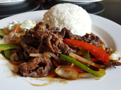 Liberica Coffee At South Quarter, Jakarta, Indonesia - Beef Teriyaki (IDR 75k)