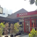 POCCI Cafe With Cute Dog Theme In Bandung, Indonesia - Overview of Facade