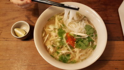 O Banh Mi Vietnamese Cafe at Tiong Bahru Plaza, Singapore - Mixed Chicken Pho Soup ($8.90)