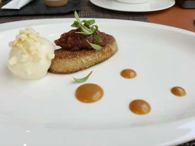 Osia Steak and Seafood Grill At Resort World Sentosa Singapore - Foie Gras (supplement $12)