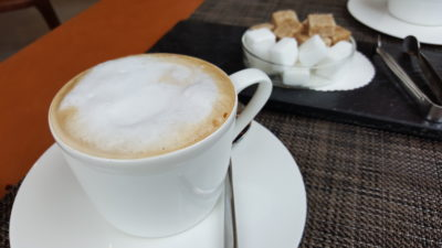 Osia Steak and Seafood Grill At Resort World Sentosa Singapore - Cappuccino
