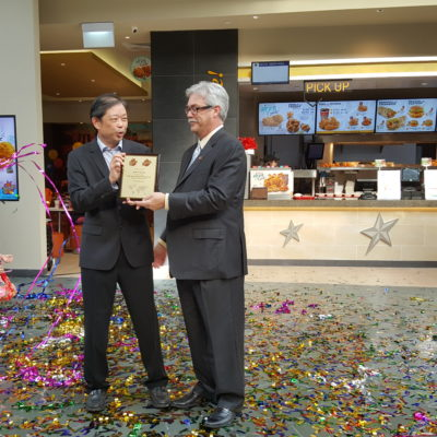 Texas Chicken's 500th International Restaurant At Resort World Sentosa Singapore - Presentation