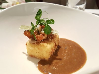 Alma by Juan Amador At Goodwood Park Hotel, Orchard, Singapore, 1 Michelin Star Restaurant - Crispy Tofu