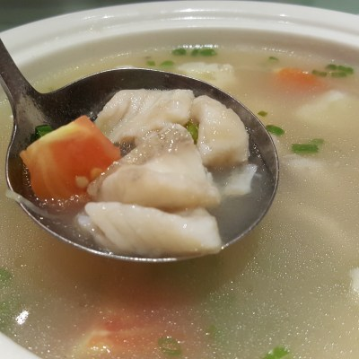Putien Yellow Croakers In Five Different Dishes - Soup With Cauliflower 黄花鱼溜 ($15.80-S / $23.80-M)