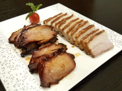 Lan Ting Cuisine & Wine At East Coast Road In Siglap, Singapore - 2 Kinds BBQ Combination with Char Siew & Pork Belly ($22)