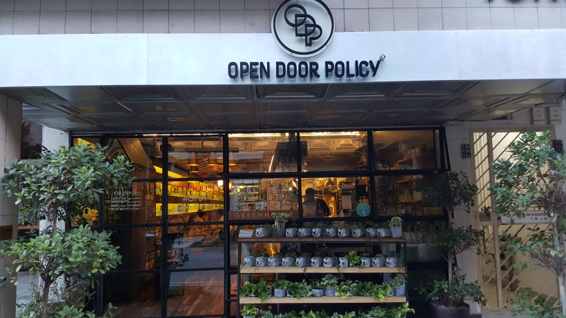 Open Door Policy Introducing Gluten & Diary Free Menu at Tiong Bahru, Singapore - Facade