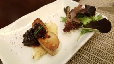 Taste Of Discovery Buffet By Latest Recipe @ Le Meridien Sentosa, Singapore - Pan Fried French Duck Foie Gras with Dark Cherry Compote