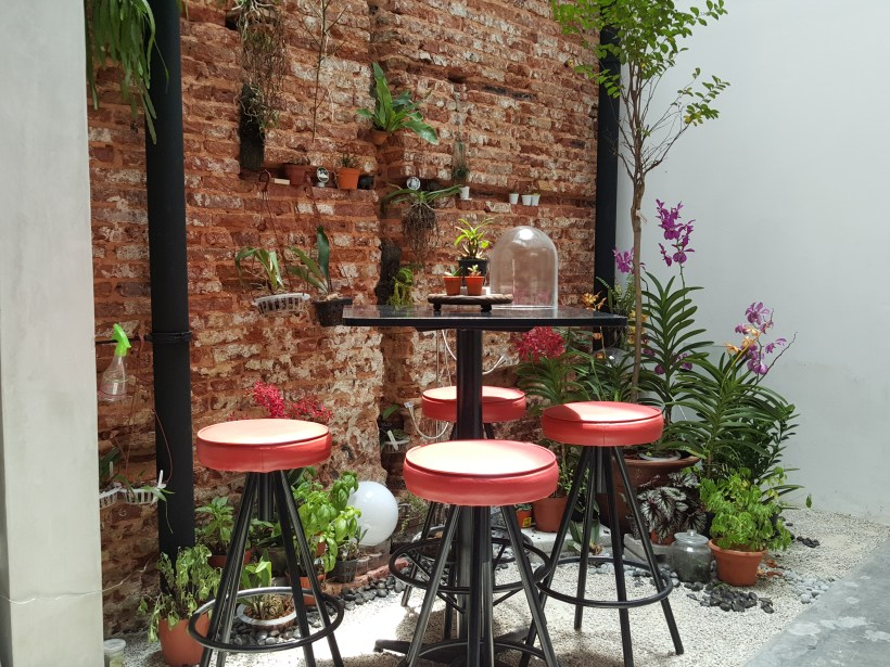 Epiphyte Cafe At Neil Road In Tanjong Pagar, Singapore - Garden Corner