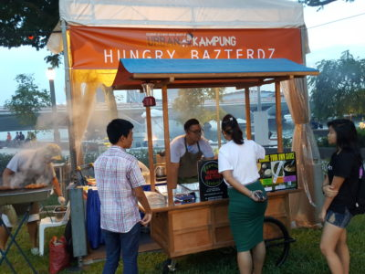 The Ultimate Satay Challenge 2016 At Urban Kampung - Hungry Bazterdz Stall