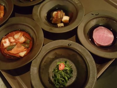 8 Korean BBQ At Shaw Centre In Orchard, Singapore - Free Flow Appetizer