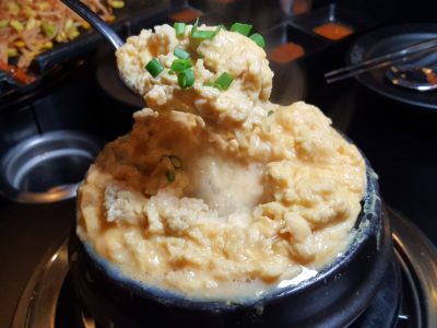 8 Korean BBQ At Shaw Centre In Orchard, Singapore - Eight's Special Steamed Egg ($12)