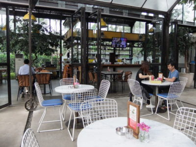 Miss Bee Providore Cafe at Bandung, Indonesia - Al Fresco Seating Area