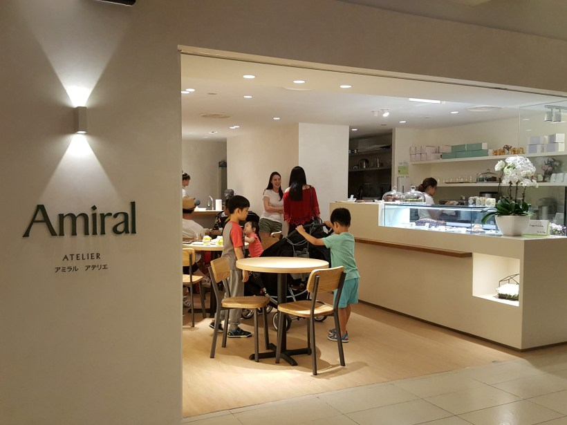 Amiral Atelier At Paragon In Orchard, Singapore - Facade