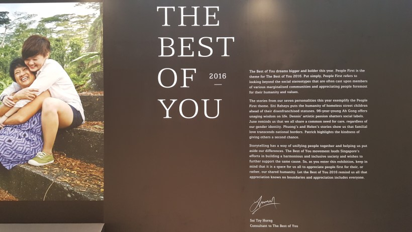 The Best Of You 2016 At Marina Square Singapore - The Best Of You 2016 Exhibition