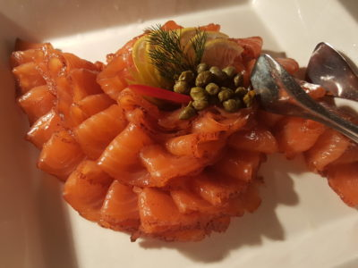 Jolly Jingles Christmas 2016 At Marriott Tang Plaza In Orchard, Singapore - Smoked Salmon