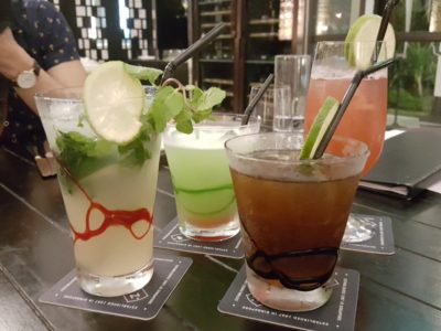 Portico Prime At Dempsey Singapore - Cocktails and Mocktails