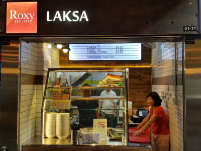 Roxy Laksa est 1952 Now At Timber+ In One North, Singapore - Roxy Laksa