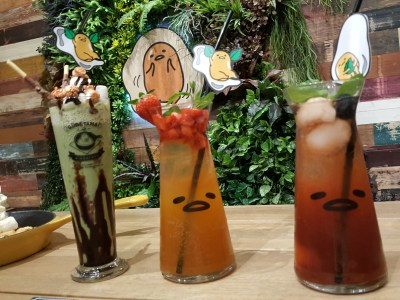 Gudetama Cafe Singapore At Suntec City - Drinks