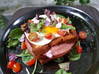 Botanist Cafe At Neil Road In Outram, Singapore - Croque Madame ($18)