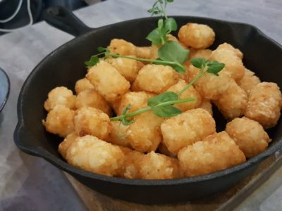 Central Perk, F.R.I.E.N.D.S Theme Cafe, At Central Mall - Potatoes The Way Joey Likes, Tater Tots ($10)