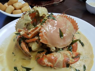 Mellben Signature Opened Through Chinese New Year 2017 In Tanjong Pagar - Creamy Butter Crab
