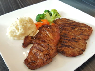 Chef's Hat At Hougang Green Singapore - Grilled Pork Chop ($16.90)