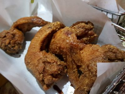 Chicken Up Korean Restaurant At Tanjong Pagar - Ganjang Soya Chicken Wings